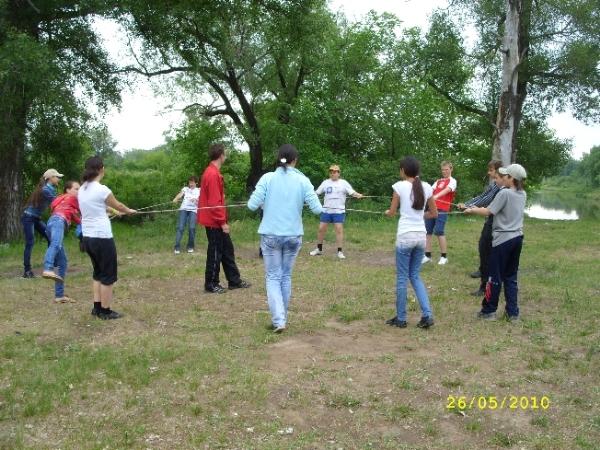 2010, май — Веревочный курс