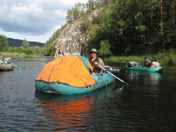 Сплав по реке Белая 09.2011