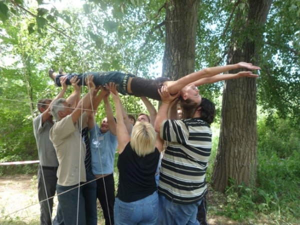 2009, май — Веревочный курс