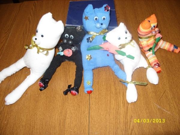 """Мастер-класс по изготовлению игрушек с 8 марта """"Мамины подарки"""""""