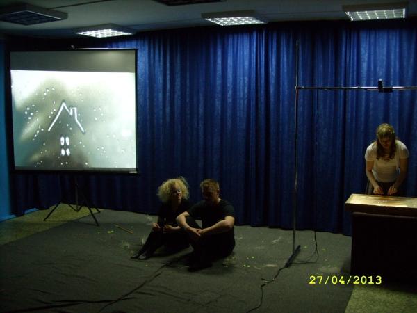 Перфоманс-спектакль «Ёжик в тумане»