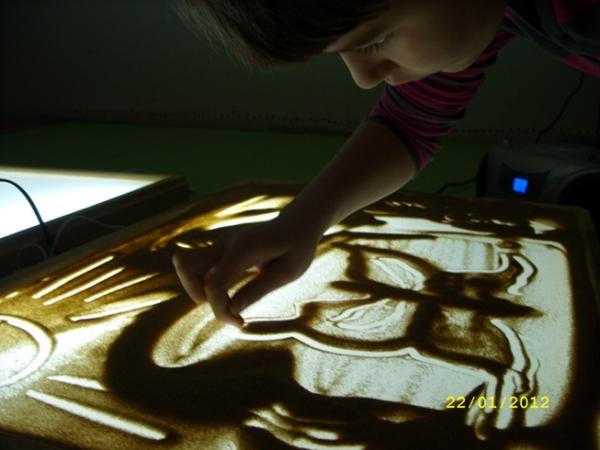 Следы на песке (2012, январь) детская группа