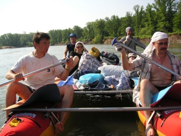Экстрим на спокойной воде (2007, июнь)