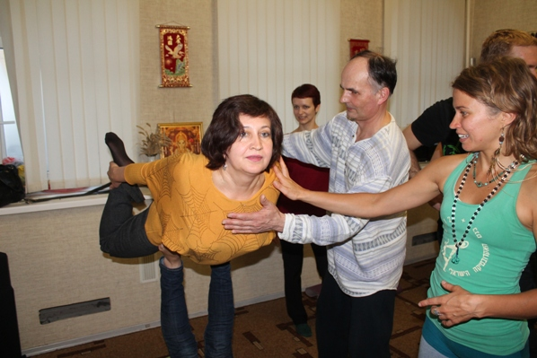 Мастер-класс по АкроЙоге от Ульяны Сотниковой