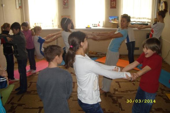 Благотворительное занятие по АкроЙоге для детей